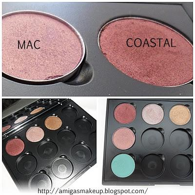 Review Sombras/Brochas Coastal Scents