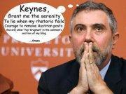 Keynes, Krugman, Rubalcaba y yo.