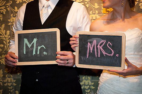 Pizarras para el photobooth de la boda/ Wedding photoboot chalkboards