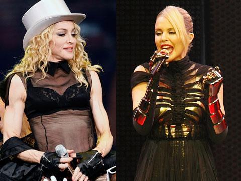 Posible dueto entre  Kylie Minogue y Madonna