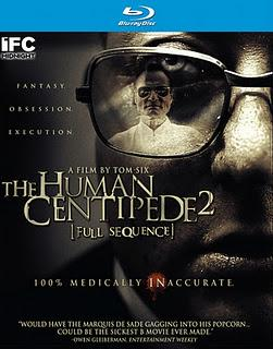 The Human Centipede II (Full Sequence) carátula USA
