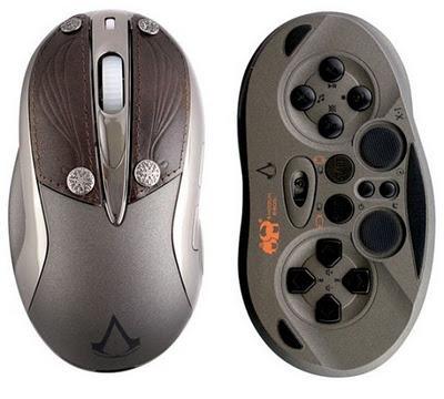 Chameleon X-1 Assassin's Creed Revelations Edition, ratón y pad de juegos en uno