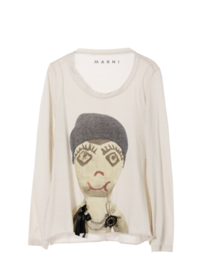 Marni Puppet Print Tshirt Profile Photo