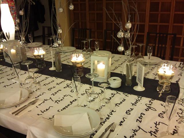 La mesa de Navidad de Vanessa