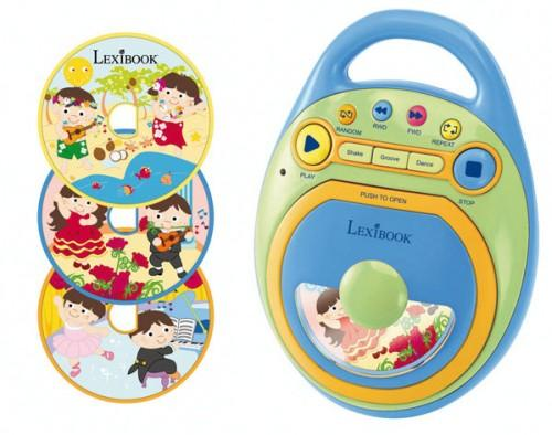 Reproductor infantil de CDs