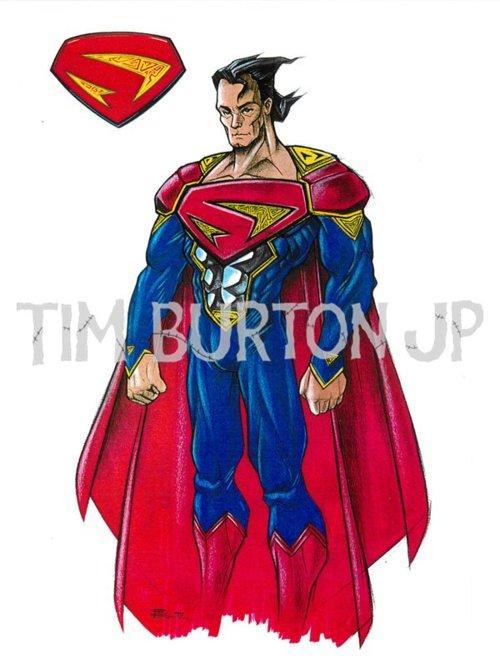 Concept art de Superman Lives