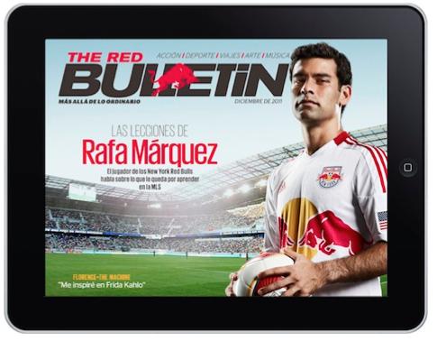 "Llega a México ""The Red Bulletin"" para IPAD"
