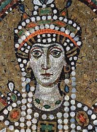 La púrpura rasgada, Emperatriz Teodora (501-548)