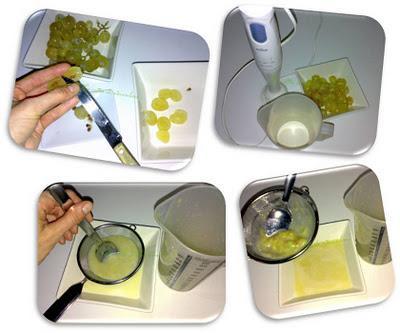 Torrijas de queso de oveja tierno con jarabe de uva