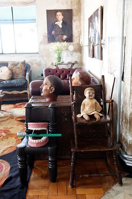 Vintage a primera vista: Una casa en Sao Paulo