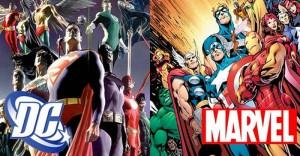 DC Comics y Marvel