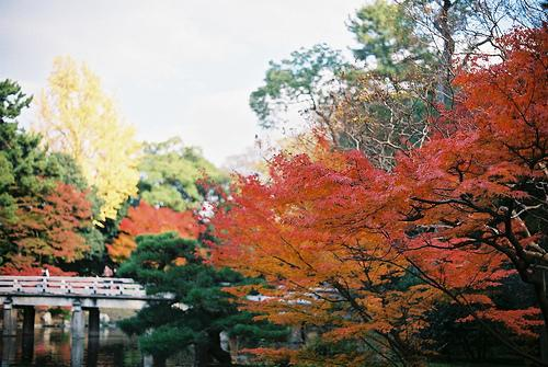 Garden of Shusuitei, Kyoto Imperial Palace
