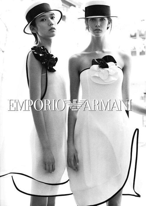 Emporio Armani campaña Primavera-Verano 2012