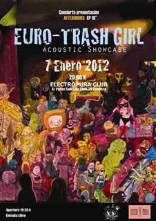 Euro-Trash Girl En Acustico En Electropura (7.Enero.2012)