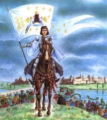 VI Centenario del nacimiento de  Santa Juana de Arco: 6 de enero 1412