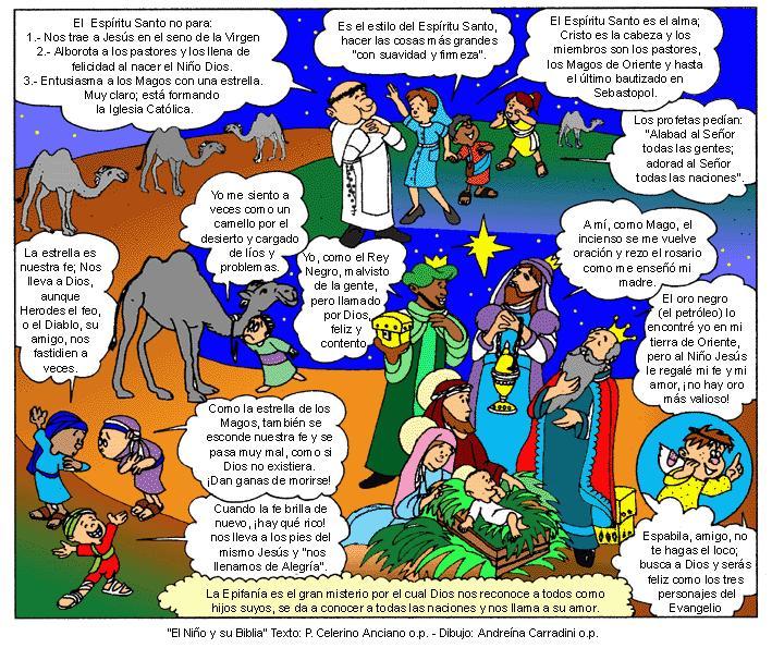 EVANGELIO DOMINICAL EN CÓMIC: EPIFANÍA DEL SEÑOR