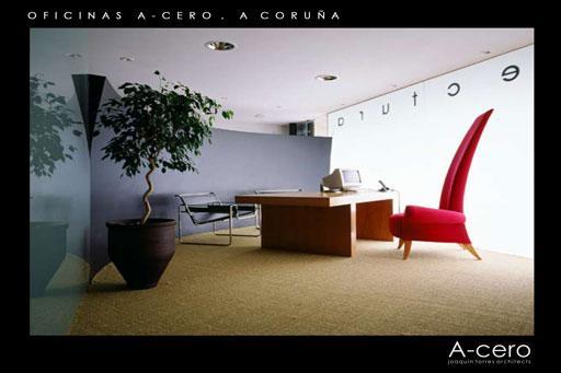 El primer estudio de A-cero en A Coruña 1996