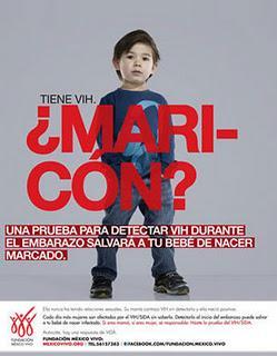 Fuerte campaña en Mexico sobre el VIH