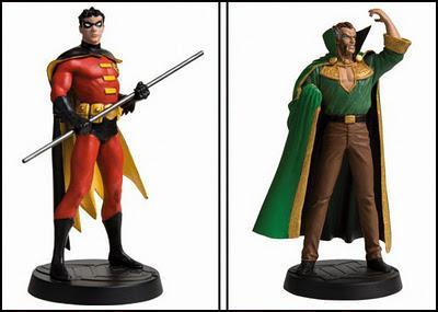 COLECCION FIGURAS DC COMICS: Ra's Al Ghul en Buenos Aires y Robin en el interior de Argentina