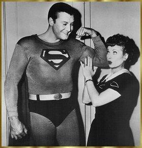 I Love Lucy and Superman 1957