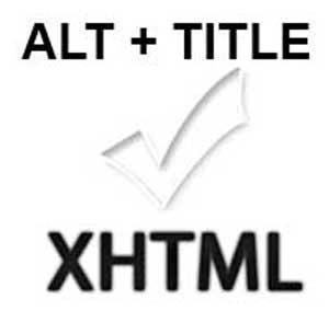 ALT + TITLE = Buen SEO