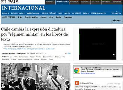 Una dictadura es una dictadura