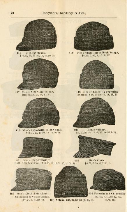 Catálogo de Sombreros