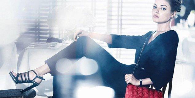 La nueva chica Dior - Mila Kunis