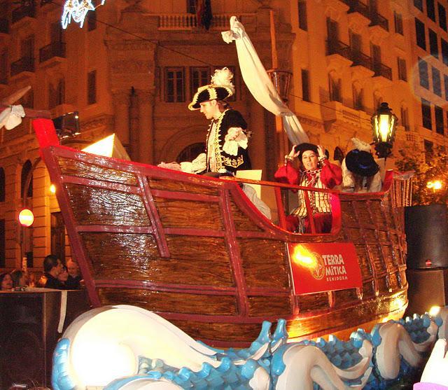 Los Reyes llegan a Valencia!!!