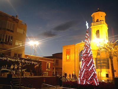 Cabalgata de Reyes Magos en Pilar de la Horadada 2012