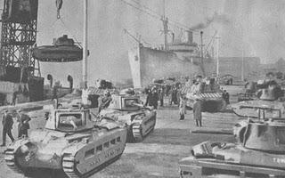Regalos de Reyes en el Norte de África: Tanques para Rommel y Auchinleck - 06/01/1942.