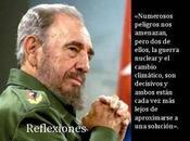 Fidel Castro, peligros nucleares cambio climático