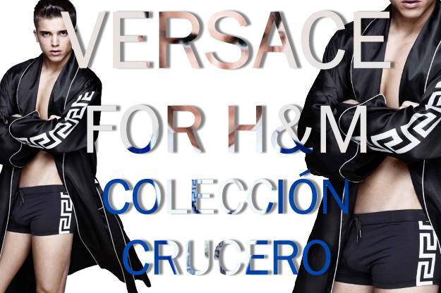 Versace for H&M; Colección Crucero con River Viiperi
