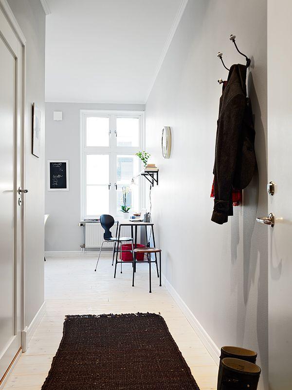 Decoración de interiores. Un bonito apartamento pequeño de 39 M²