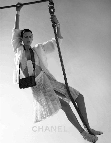 Chanel y su campaña publicitaria primavera-verano 2012