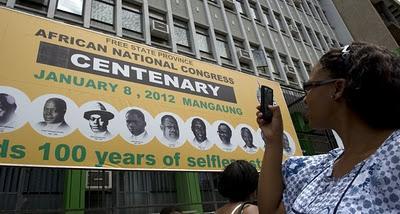 Sudáfrica celebra centenario del ANC
