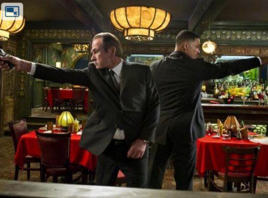 Primera imagen de Will Smith y Tommy Lee Jones en MIB 3
