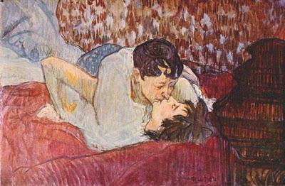 Besos muy artísticos, besos inolvidables