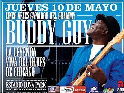 BUDDY GUY en Argentina 10/05/12 - Estadio Luna Park