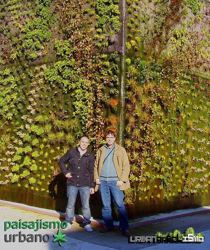 El jardín vertical escondido de Getafe.