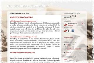 Alzheimer y Sociología (Un proyecto en la UGR)