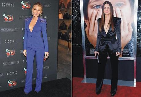 Would you wear it?: blazer sin camisa