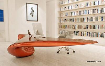 Escritorios para pc ultra modernos paperblog for Diseno de escritorios en casa