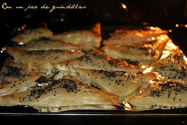 Empanadillas de calabacín y queso