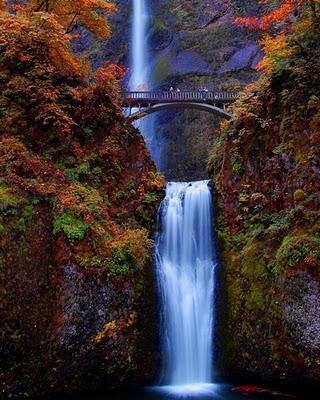 Cataratas Multnomah, Oregon, Estados Unidos