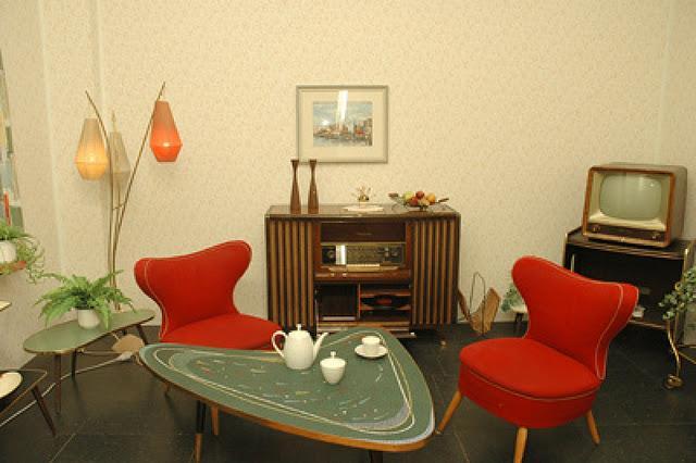Inolvidables decoraciones a os 50 39 s paperblog - Decoracion anos 50 ...