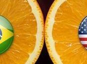 Naranjas Brasil Estados Unidos