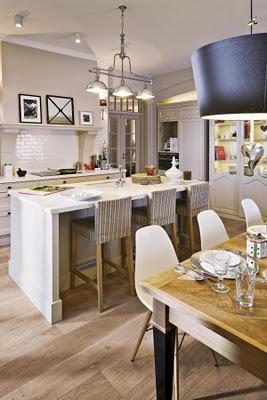Cocina comedor living rustico paperblog for Comedor y cocina integrados