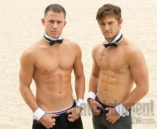Los abdominales de Magic Mike