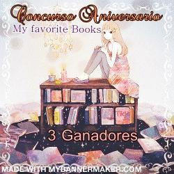 Sorteo aniversario del blog My favorite books